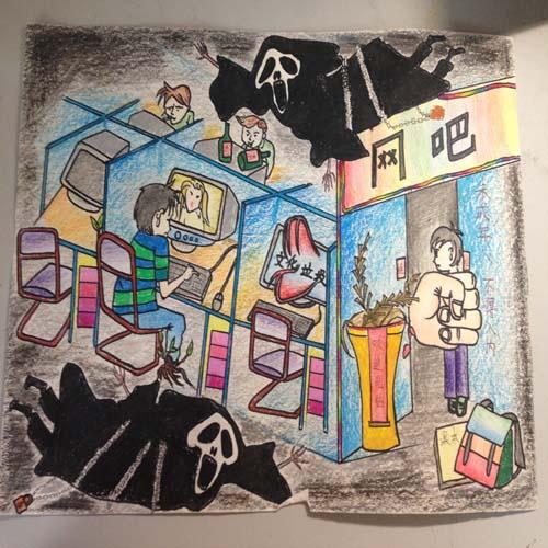《校服毒害》于佳卉威海高区神网络中学道口照片真实初中妹图片