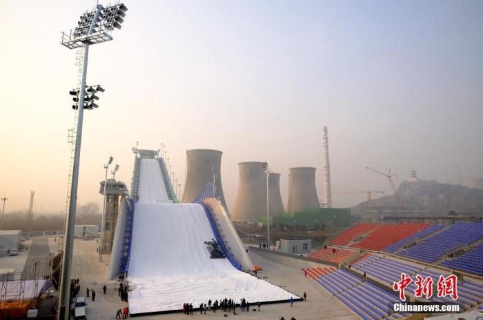 「中国新闻网」首钢滑雪大跳台首秀在即 这个冬奥场馆有何玄机?
