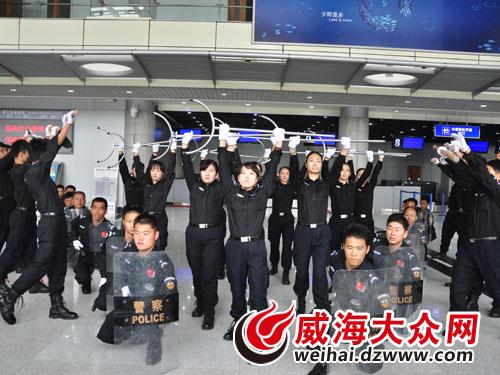 威海国际机场航班顺利恢复