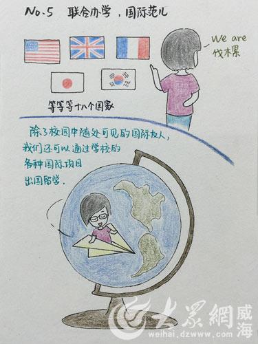 山大学姐手绘漫画版新生入学指南 获赞好贴心