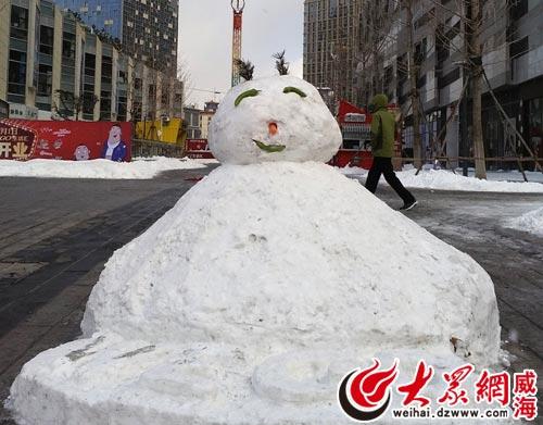 贴吧雪人情侣头像