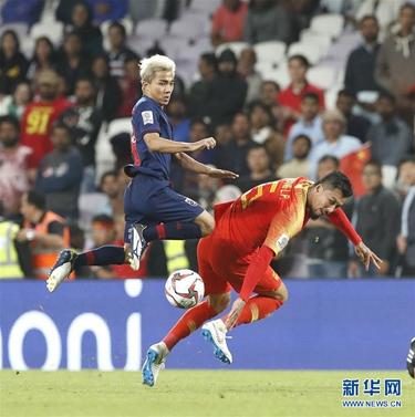 亚洲杯:中国队2:1泰国晋级八强
